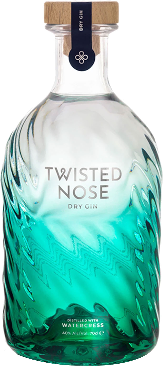 Stockists of Twisted Nose - Watercress Dry Gin 70cl Bottle