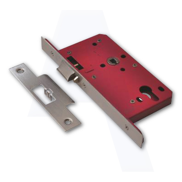 Stockists of UNION 2E25S DIN Euro Deadlocking Nightlatch Case