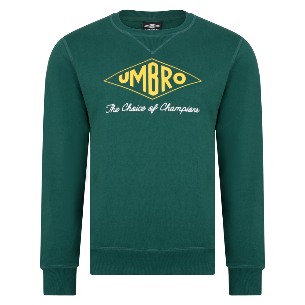 Best Umbro Choice of Champions Green Sweatshirt Stockists