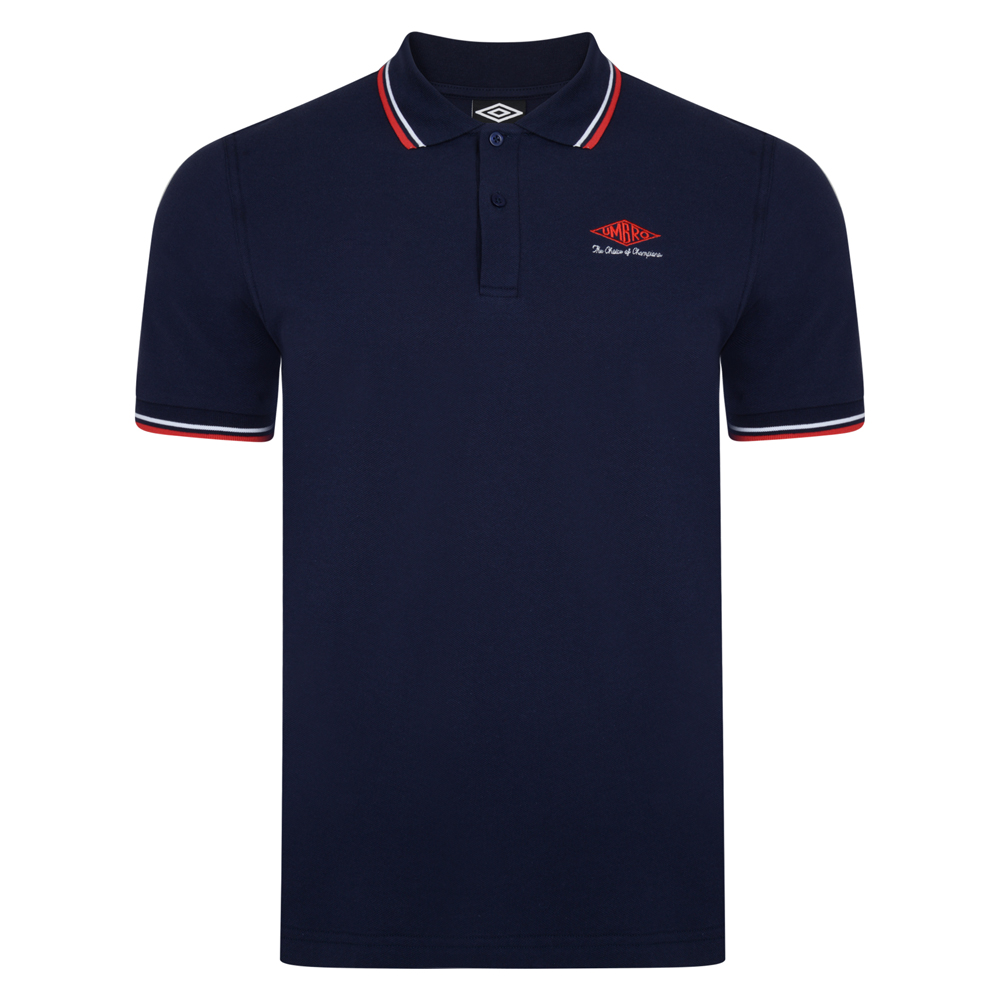 Best Umbro Choice of Champions Navy England Polo Shirt Stockists