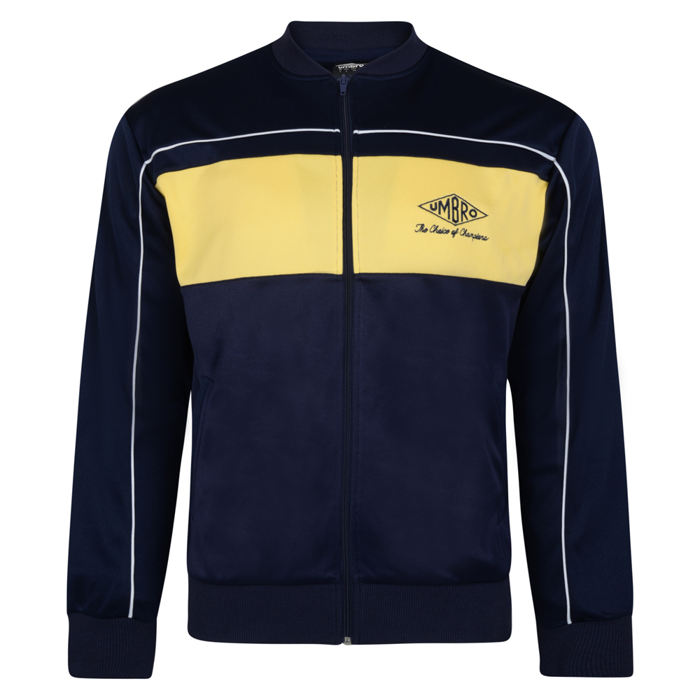 Bargain Umbro Choice of Champions Navy Track Jacket Stockists