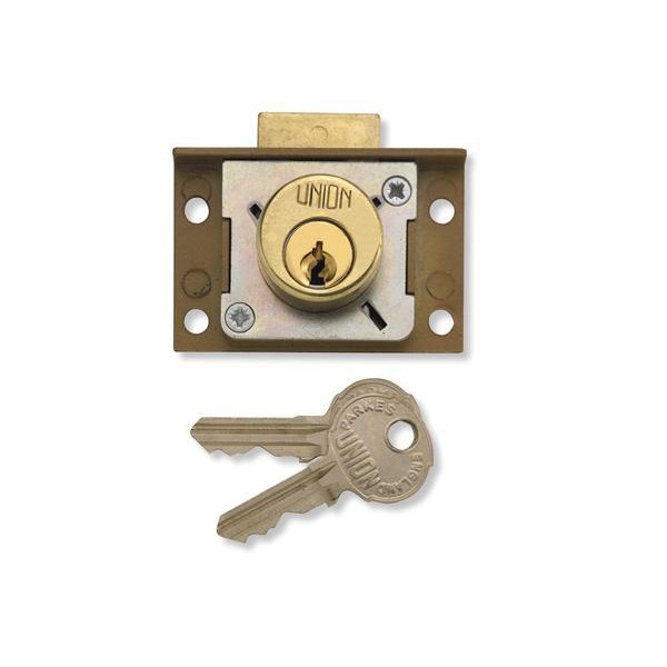 Stockists of Union 4137 Cut Cupboard/Drawer Lock