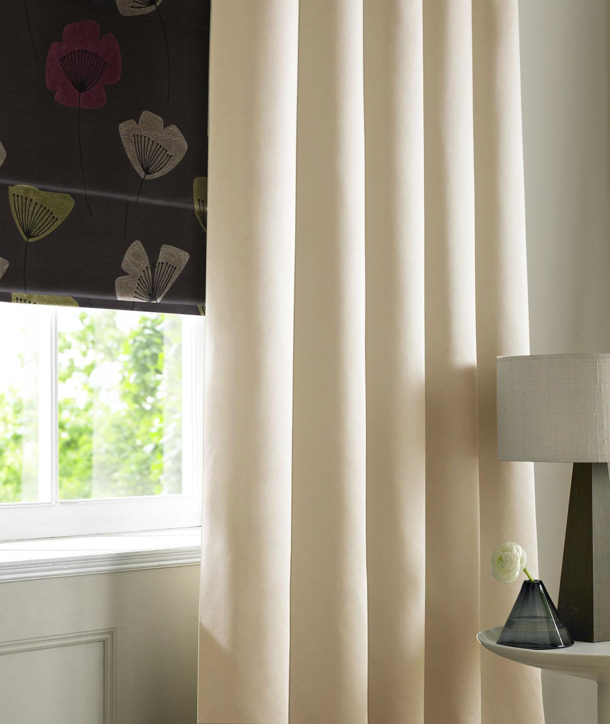 Bargain Vanilla Rib Plain Made to Measure Curtains Stockists