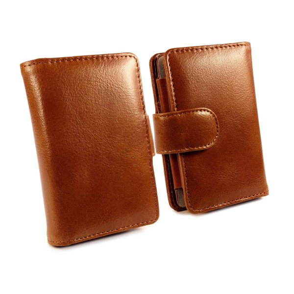Bargain Vintage Genuine Leather Wallet Case Cover for Fiio X5 iii 3rd Gen   Brown Stockists
