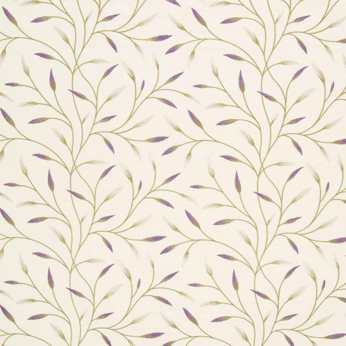 Bargain Violet Pietra Floral Curtain Fabric Stockists