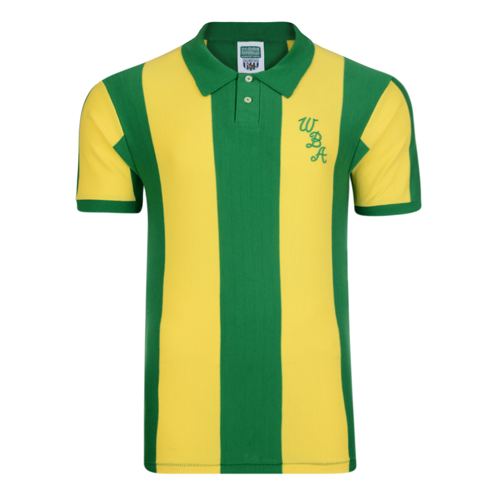 Bargain West Bromwich Albion 1978 Away Retro Shirt Stockists