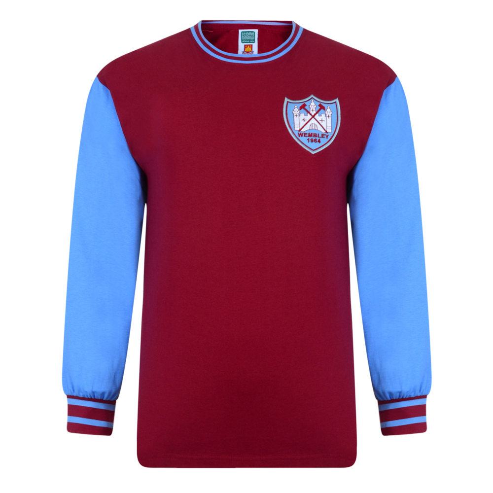 Best West Ham United 1964 FA Cup Final No6 Retro Shirt Stockists