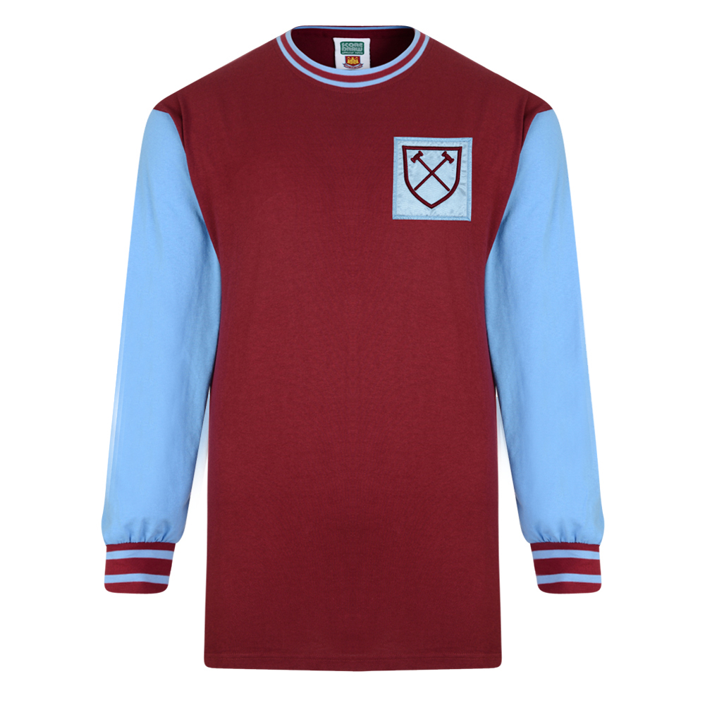 Stockists of West Ham United 1966 Long Sleeve Retro Shirt