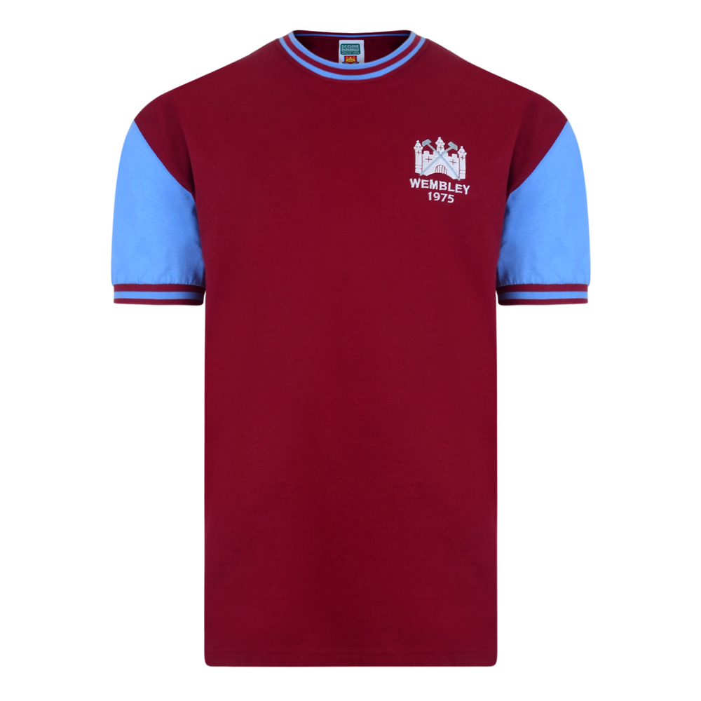 Bargain West Ham United 1975 FA Cup Final No4 Retro Shirt Stockists