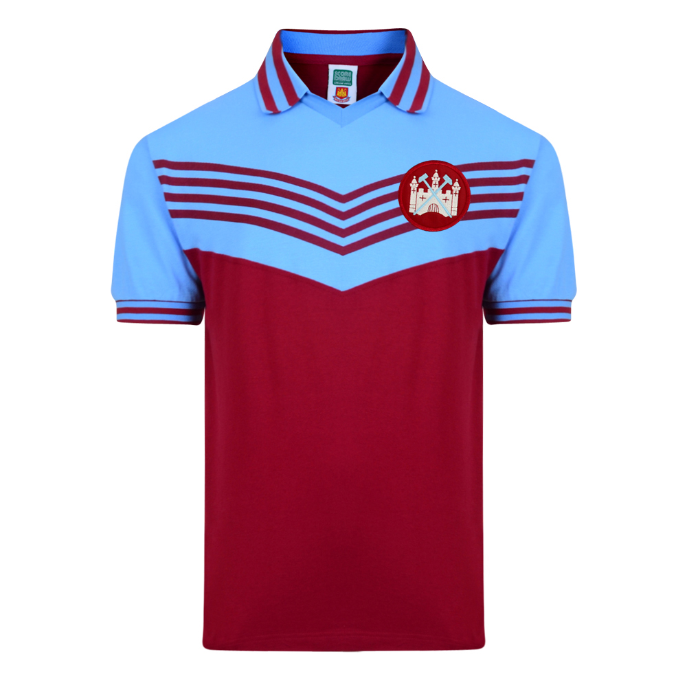 Stockists of West Ham United 1976 Retro Football Shirt