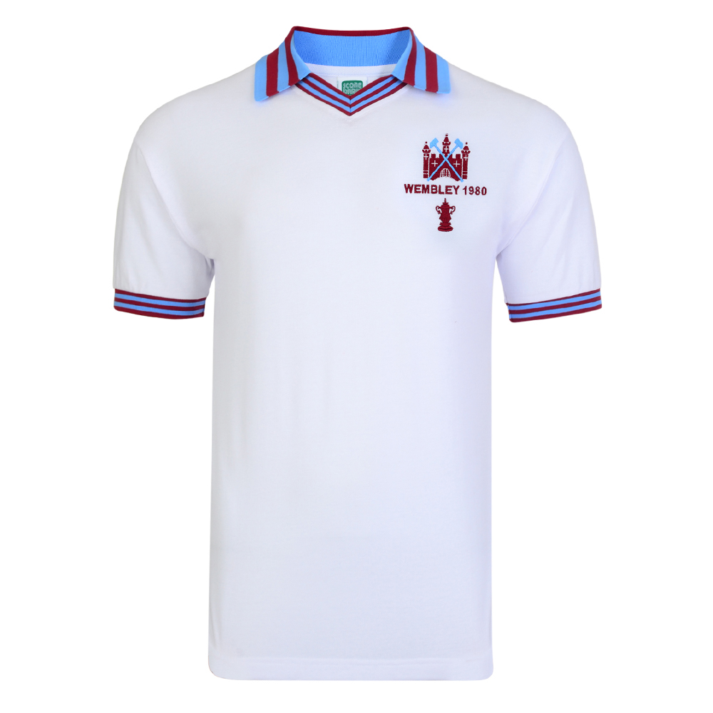 Stockists of West Ham United 1980 FA Cup Final Retro Shirt