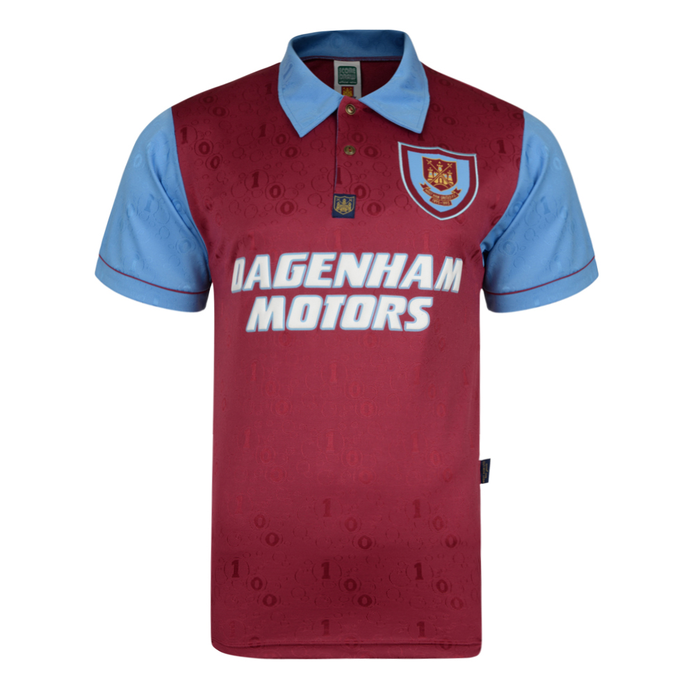 Stockists of West Ham United 1995 Centenary Retro Shirt
