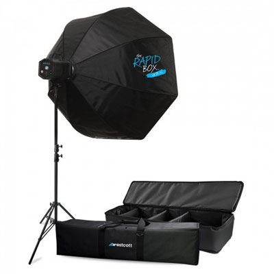 Bargain Westcott Skylux Light Kit with 36 inch Rapid Box Stockists