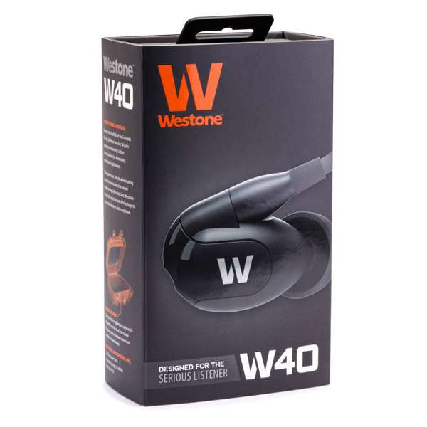 Bargain Westone W40 Quad Driver Earphones with built in mic and removable cable Stockists