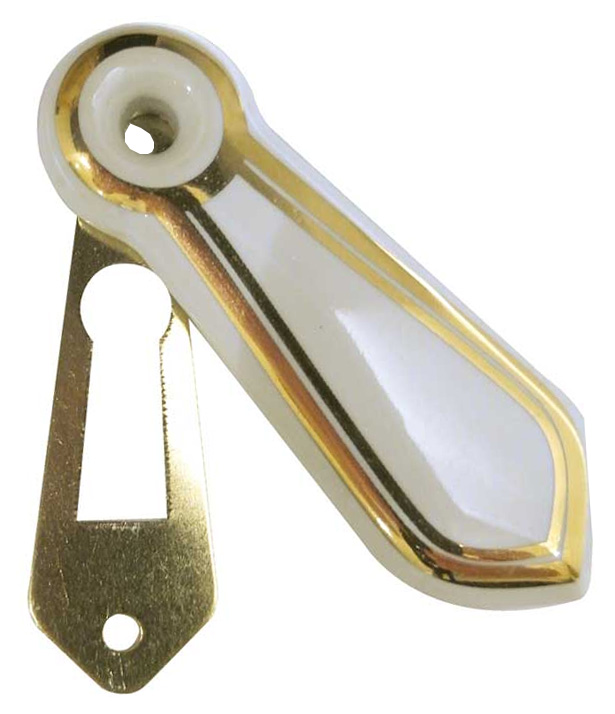 Stockists of White Gold Line China Keyhole Cover