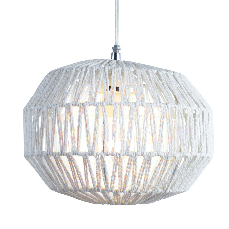 Stockists of White Macca Woven Pendant