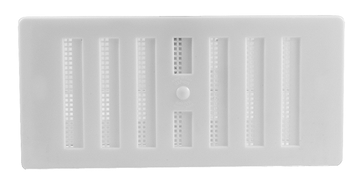 Bargain White Plastic Hit and Miss Vent 152x76mm Stockists
