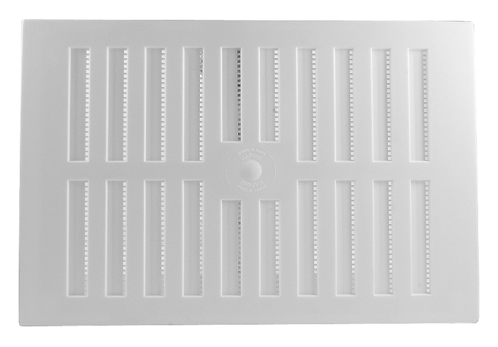 Stockists of White Plastic Hit and Miss Vent 229x152mm