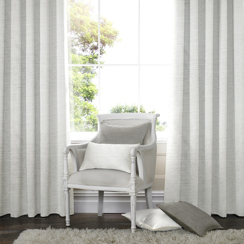 Bargain White Salvador Faux Silk Made to Measure Curtains Stockists