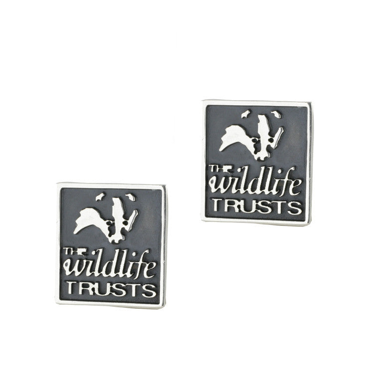 Bargain Wild Life Trust Collection Sterling Silver Badger Cufflinks Stockists