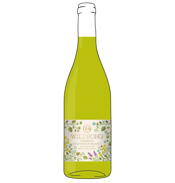 Bargain Wildsong Sauvignon Blanc New Zealand. Stockists