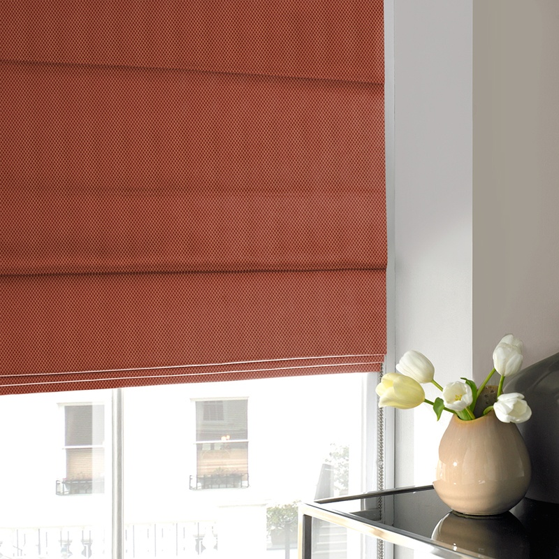 Stockists of Wine Palermo Roman Blind