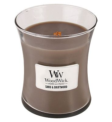 Bargain Woodwick Sand and Driftwood Medium Core Stockists