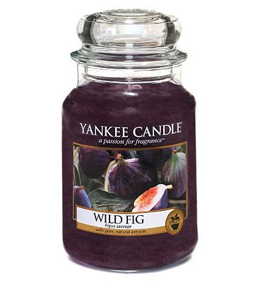 Bargain Yankee Candle Classic large jar candle   Wild Fig Stockists
