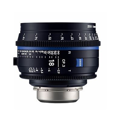 Bargain Zeiss CP.3 18mm T2.9 Lens - EF Mount (Feet) Stockists