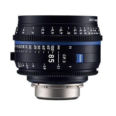 Bargain Zeiss CP.3 85mm T2.1 Lens - E Mount (Metric) Stockists
