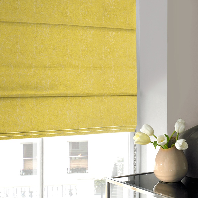 Stockists of Zest Waterfall Roman Blind