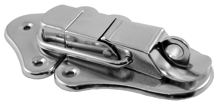 Stockists of Zinc Plated Case Clip with Padlock Facility