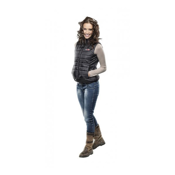 Bargain exo2 ExoGlo 3 Shower Proof, Windproof and Breathable Heated Bodywarmer Vest Female BLACK Size 20 Stockists